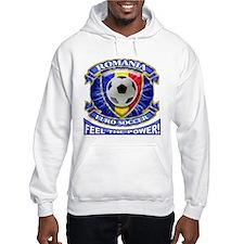 Romania Soccer Power Hoodie