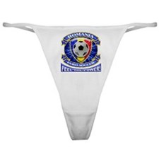 Romania Soccer Power Classic Thong