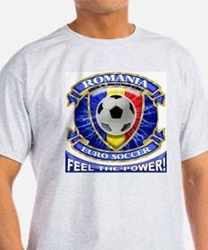 Romania Soccer Power T-Shirt