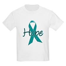 Hope Teal Ribbon T-Shirt