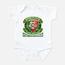 Portugal Soccer Power Infant Bodysuit