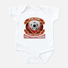 Poland Soccer Power Infant Bodysuit