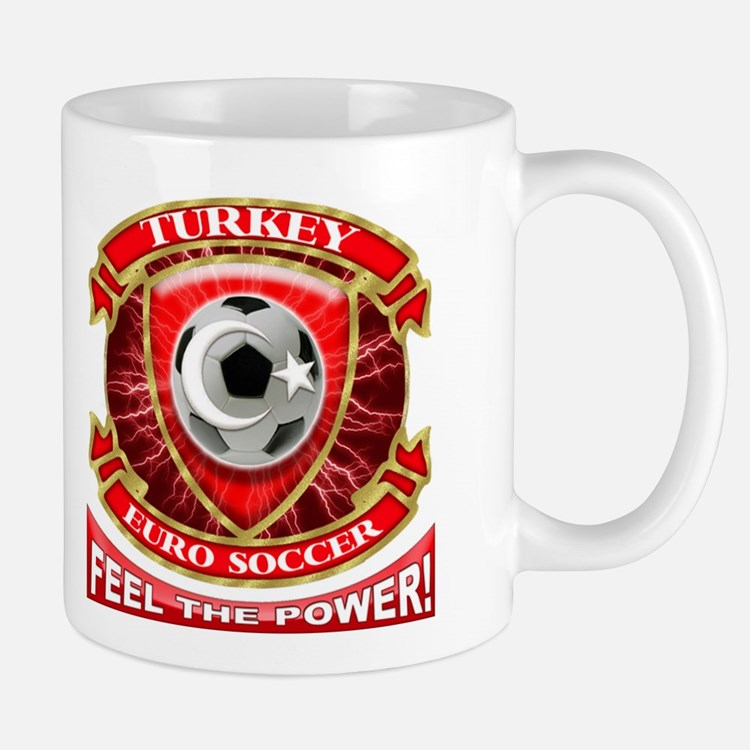 Turkey Soccer Power Mug