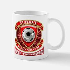 Turkey Soccer Power Small Small Mug