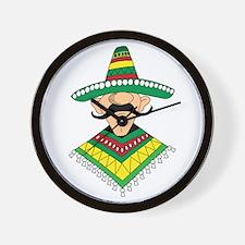 Cinco de Mayo Mexican Guy Wall Clock