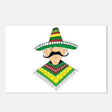 Cinco de Mayo Mexican Guy Postcards (Package of 8)