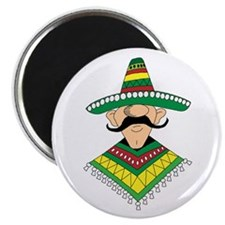 Cinco de Mayo Mexican Guy Magnet