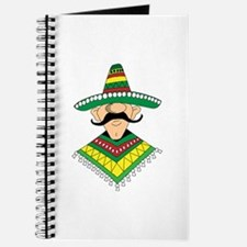 Cinco de Mayo Mexican Guy Journal