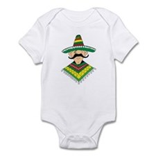 Cinco de Mayo Mexican Guy Infant Bodysuit