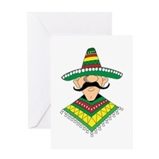 Cinco de Mayo Mexican Guy Greeting Card