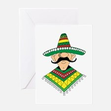 Cinco de Mayo Mexican Guy Greeting Card