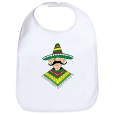 Cinco de Mayo Mexican Guy Bib