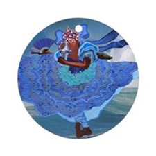 Yemeya Ornament (Round)