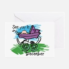 See You In December Greeting Card