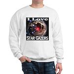 I Love Star Gazers Sweatshirt