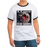 I Love Star Gazers Ringer T