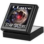 I Love Star Gazers Keepsake Box