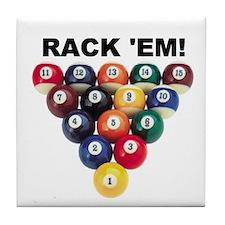 RACK 'EM! Tile Coaster