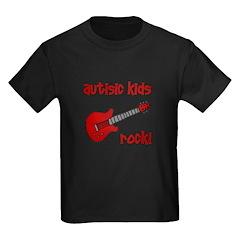 Autistic Kids Rock! Red Guit T