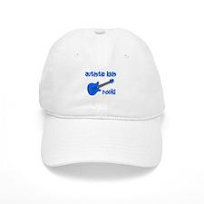 Autistic Kids Rock! Blue Guit Baseball Cap