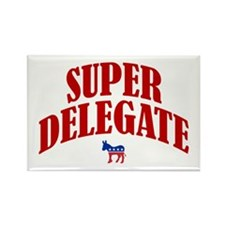 Super Delegate Rectangle Magnet