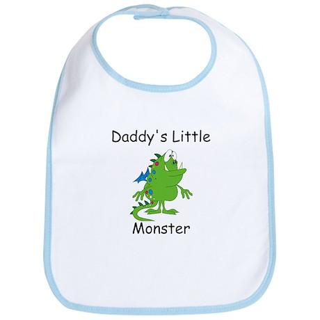 Daddy's Little Monster Bib