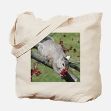 Squirrel with Roses? Tote Bag