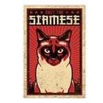 SIAMESE Dictator- Cat Postcards (Package of 8)