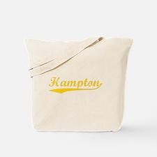 Vintage Hampton (Orange) Tote Bag