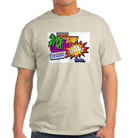 Comic Ash Grey T-Shirt