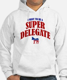 I Want To Be A Super Delegate Hoodie