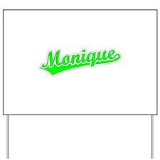 Retro Monique (Green) Yard Sign