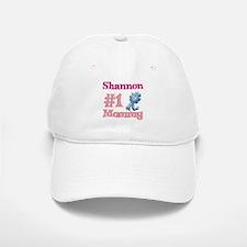 Shannon - #1 Mommy Baseball Baseball Cap
