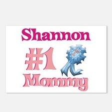 Shannon - #1 Mommy Postcards (Package of 8)