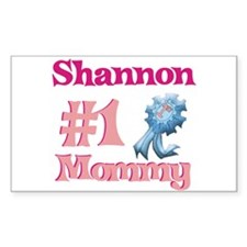 Shannon - #1 Mommy Rectangle Decal