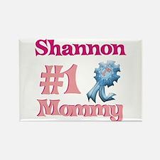 Shannon - #1 Mommy Rectangle Magnet