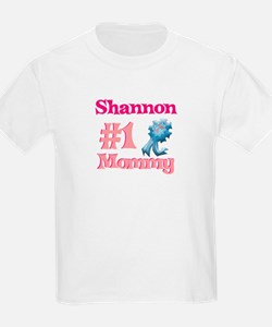 Shannon - #1 Mommy T-Shirt