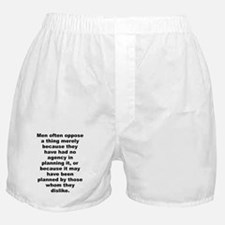 Cute Quotations Boxer Shorts