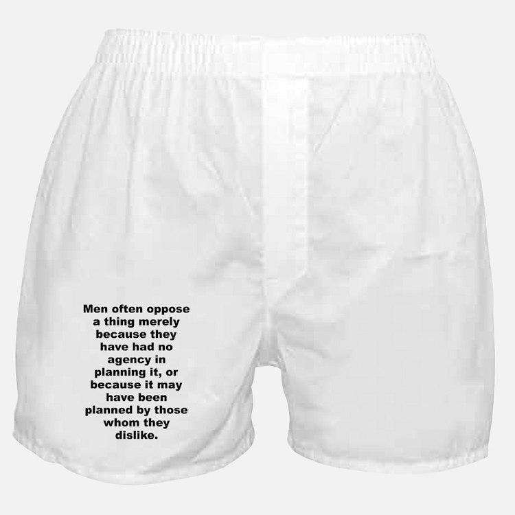 Cute Quotable quotes Boxer Shorts