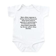 Cute Alexander hamilton Infant Bodysuit