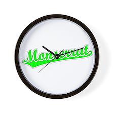 Retro Monserrat (Green) Wall Clock