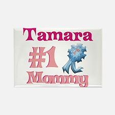 Tamara - #1 Mommy Rectangle Magnet
