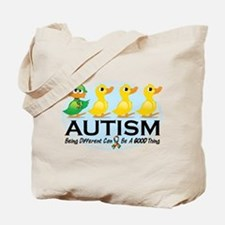 Autism Ugly Duckling Tote Bag