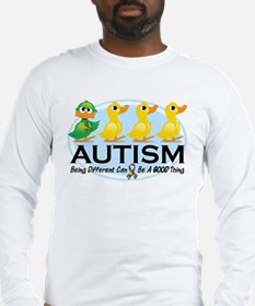 Autism Ugly Duckling Long Sleeve T-Shirt