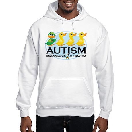 Autism Ugly Duckling Hooded Sweatshirt