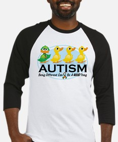 Autism Ugly Duckling Baseball Jersey