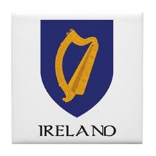 Ireland Coat of Arms Tile Coaster