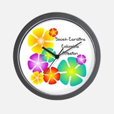 South Carolina Columbia Missi Wall Clock