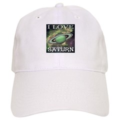 I Love Saturn Baseball Cap