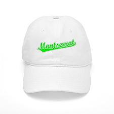 Retro Montserrat (Green) Baseball Cap